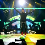 Usher  at iHeart Radio Music Festivial 6