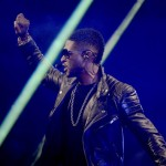 Usher at iHeart Radio Music Festivial 7
