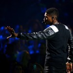 Usher at iHeart Radio Music Festivial 8