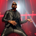 Usher  at iHeart Radio Music Festivial 9