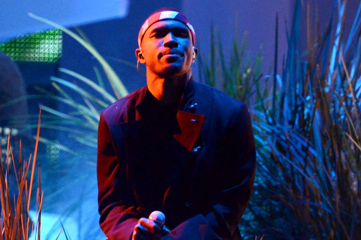Frank Ocean, photo by by Kevin Winter