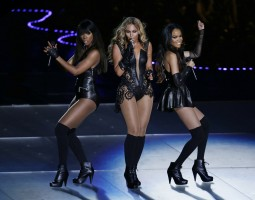 Beyonce Shuts Down the Super Bowl with Performance