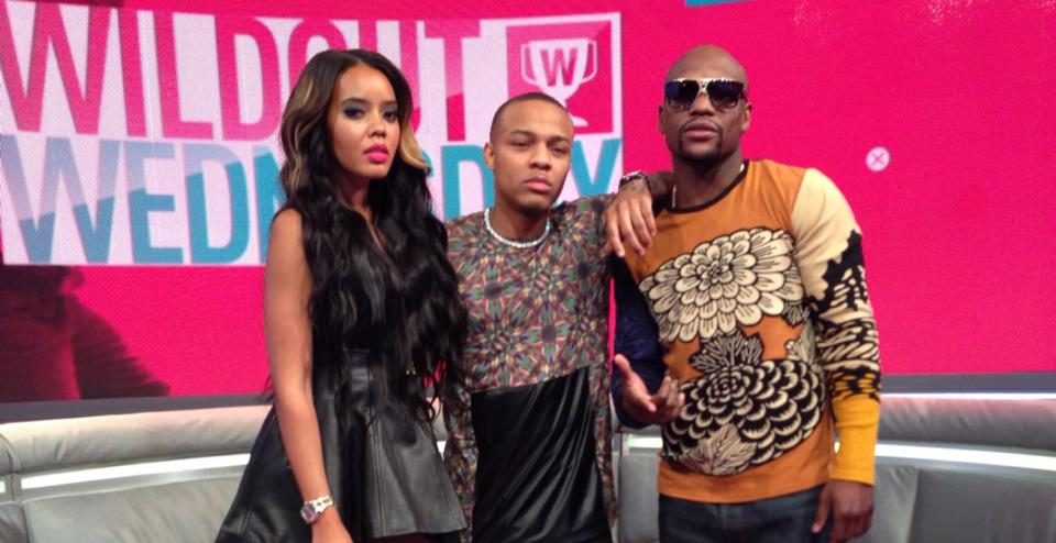 Angela Simmons, Bow Wow, Floyd Mayweather