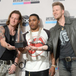 2013 American Music Awards - Press Room Winners - Florida Georgia Line - Nelly