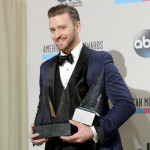 2013 American Music Awards - Press Room Winners - Justin Timberlake