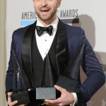2013 American Music Awards - Press Room Winners - Justin Timberlake -3