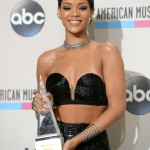 2013 American Music Awards - Press Room Winners - Rihanna-Icon Award