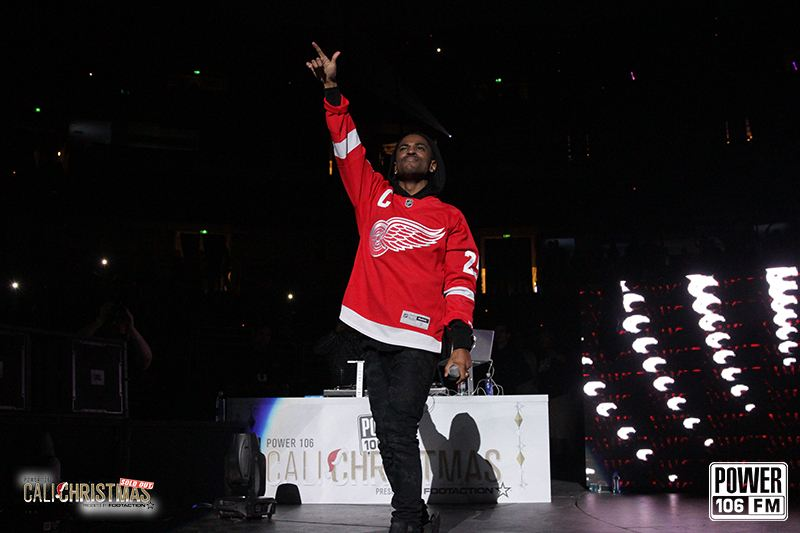 CaliChristmas surprise guest, Big Sean - photo courtesy of Power106