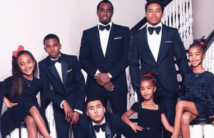 Diddy & Family, Christmas card 2013