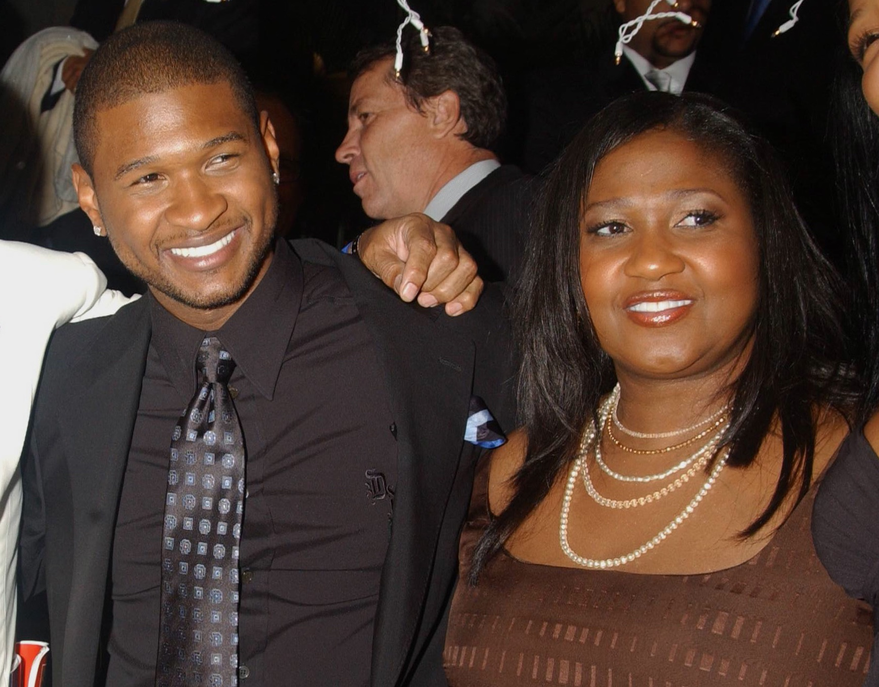 Usher and Mother Jonetta Patton, photo by Jennifer Graylock