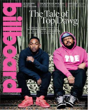 Kendrick Lamar & SchoolBoy Q, photo courtesy of Billboard