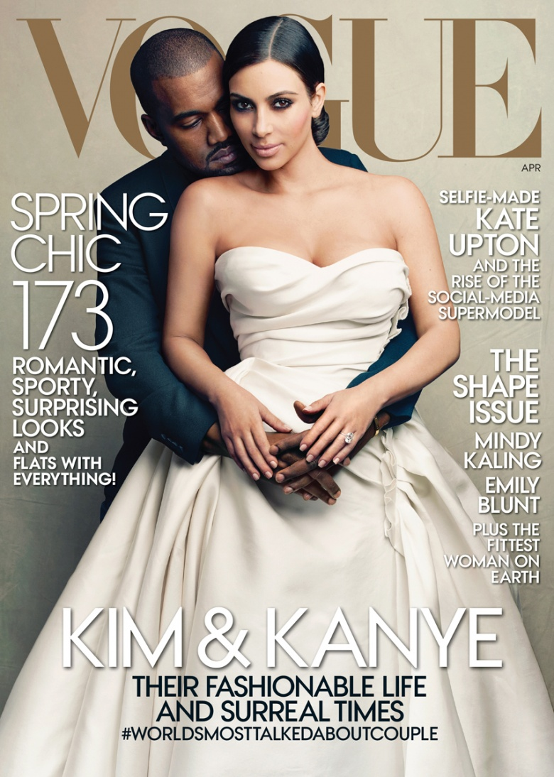 Kanye West & Kim Kardashian Creates Controversy with Vogue