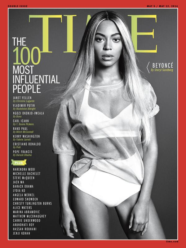 Beyonce in TIME