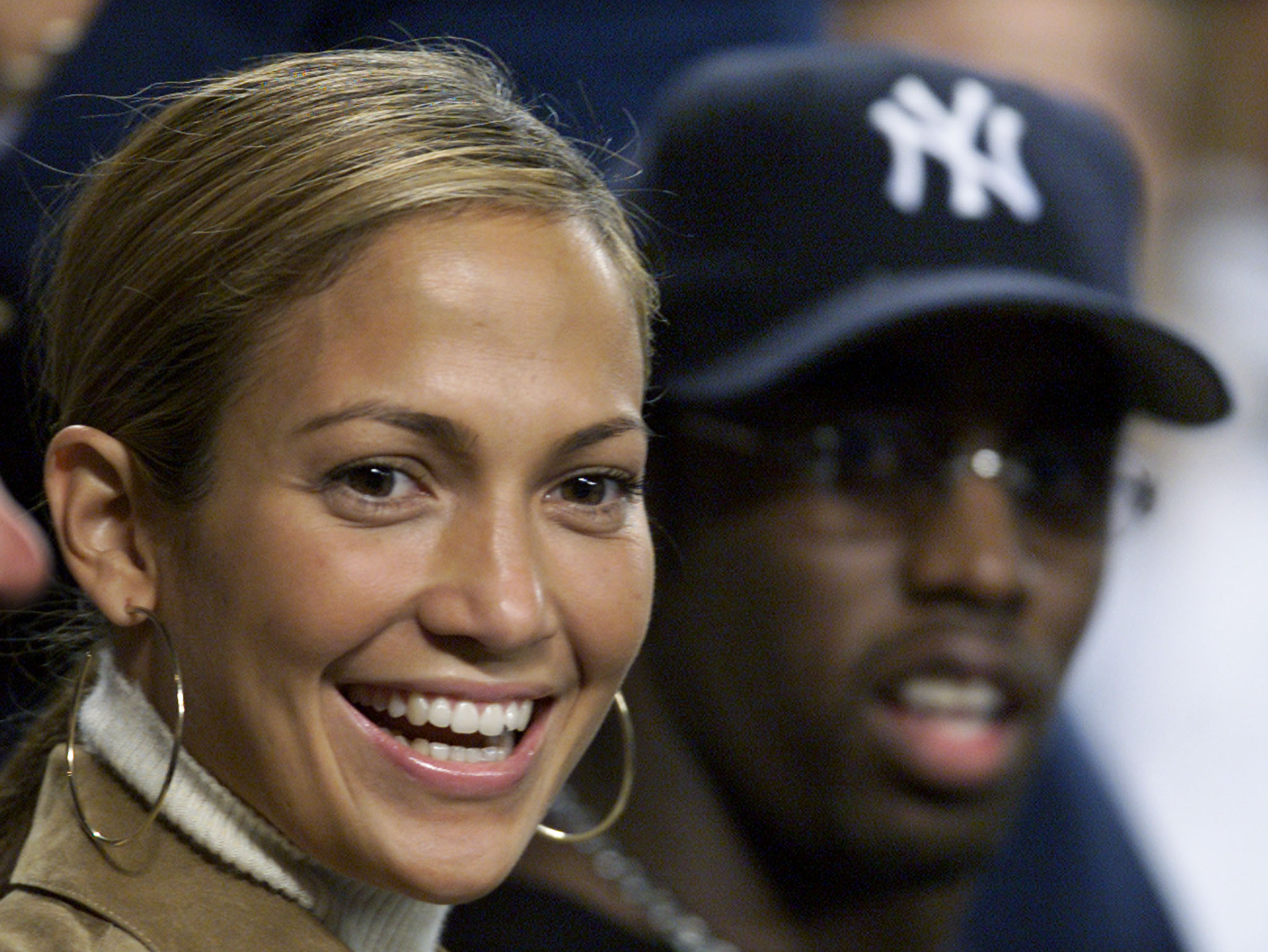 J.LO & Diddy, photo courtesy of REUTERS/Gary Hershorn /Landov