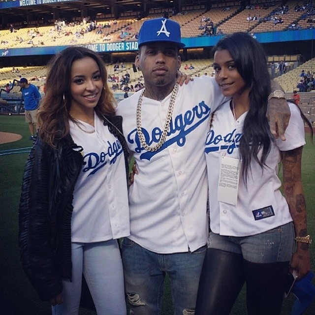 Tinashe Hits Home Run Singing the National Anthem at Dodgers Game